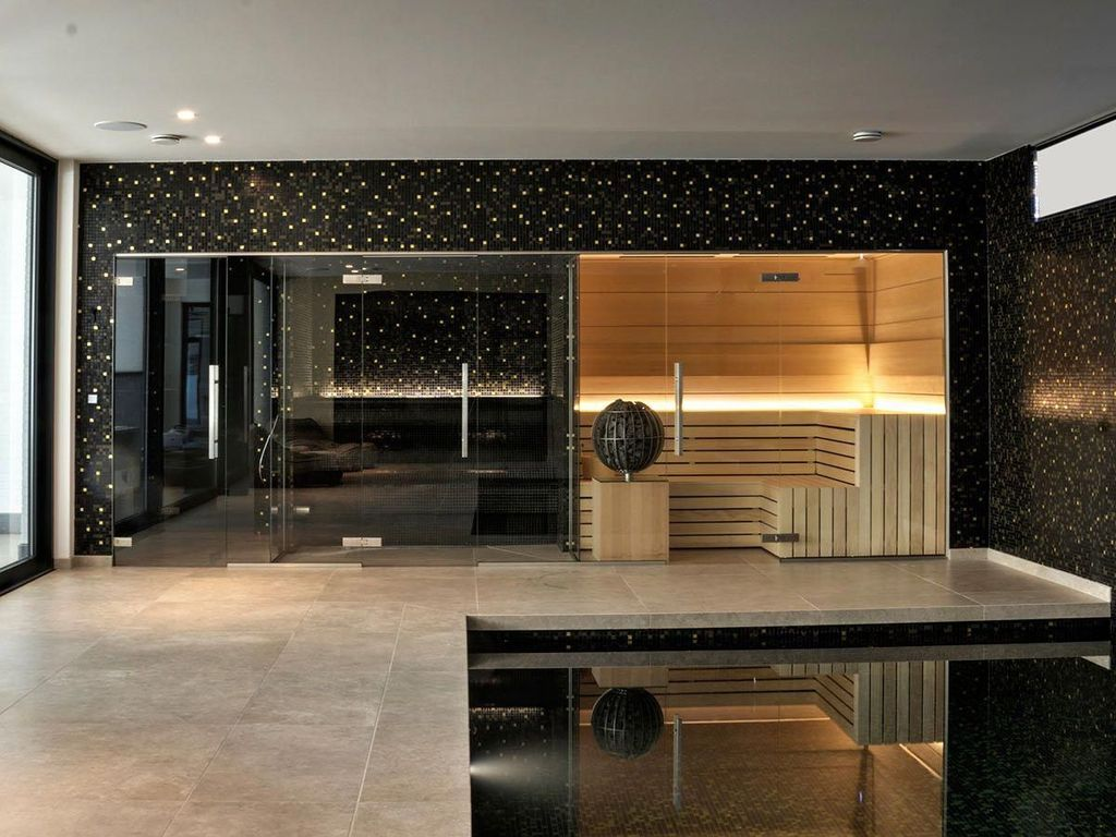 Beautiful Sauna Design Ideas For Your Bathroom 22