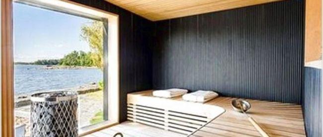 Beautiful Sauna Design Ideas For Your Bathroom 35