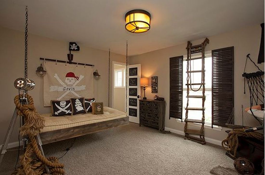 Cozy Boys Bedroom Decorating Ideas 09