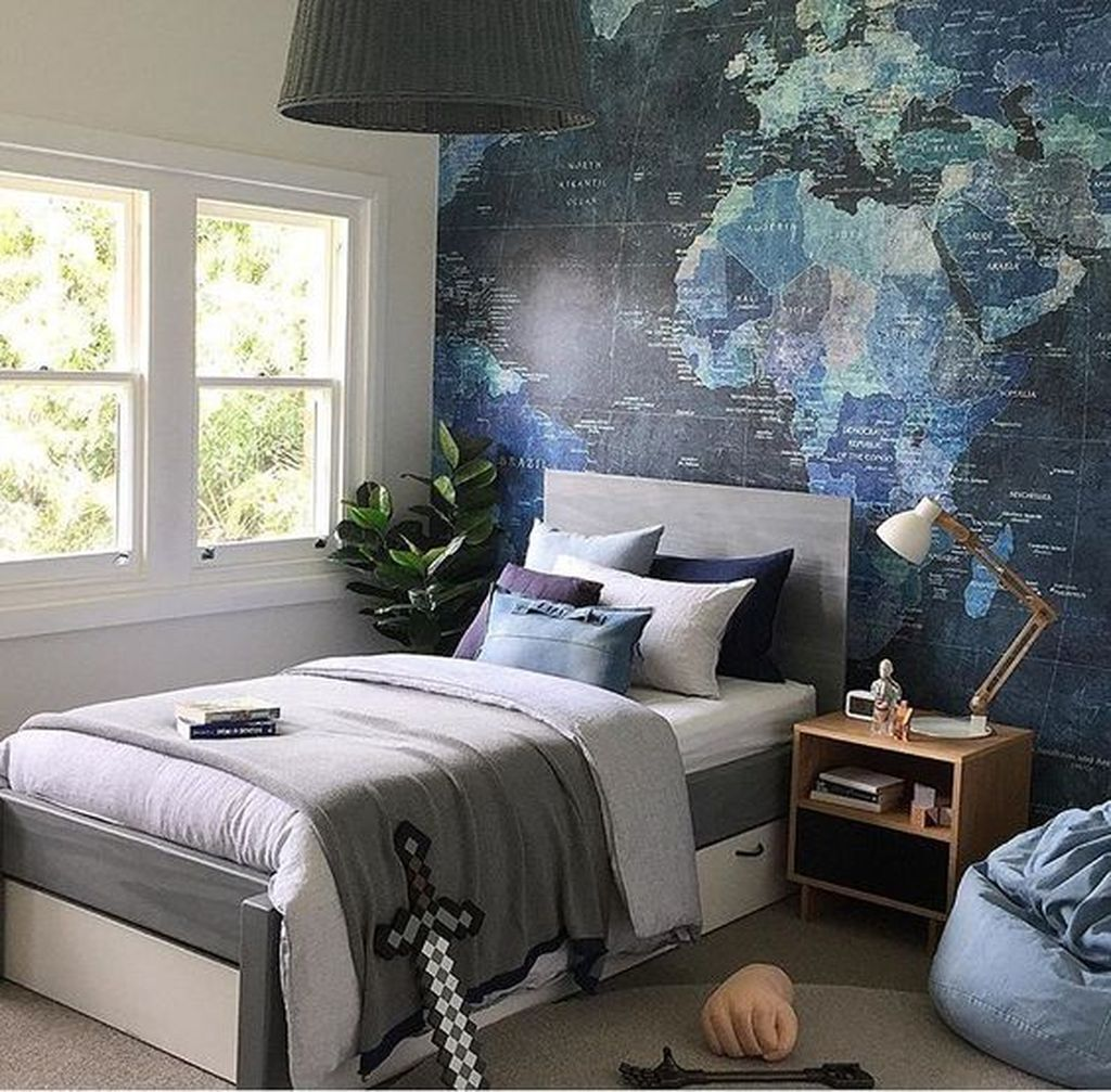 Cozy Boys Bedroom Decorating Ideas 14