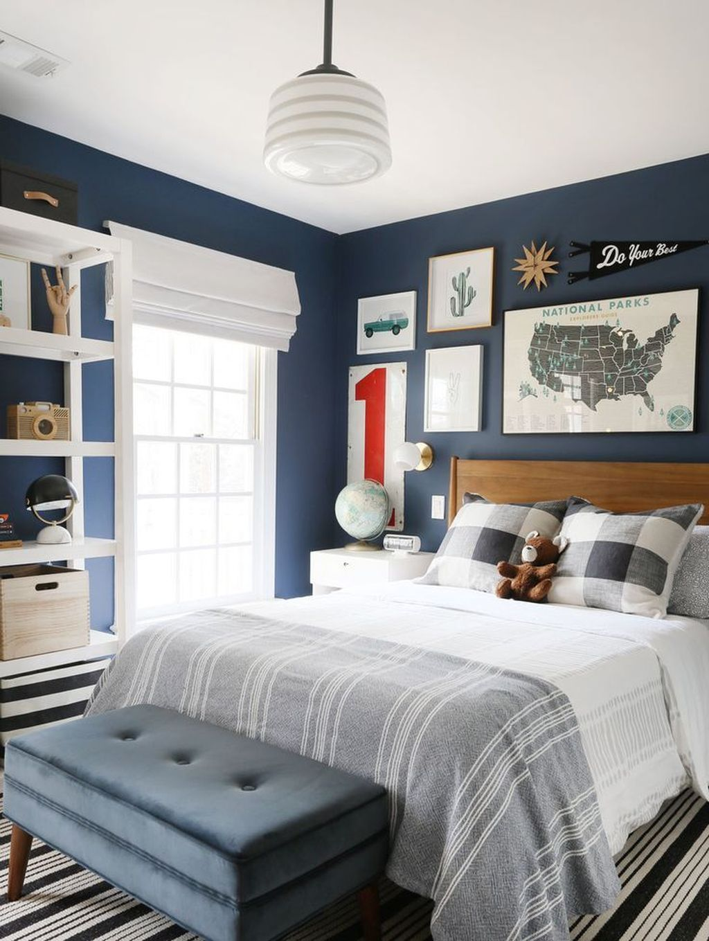 Cozy Boys Bedroom Decorating Ideas 15