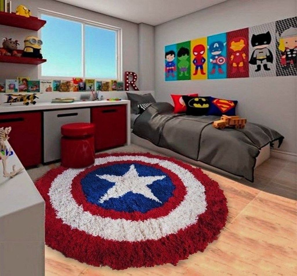Cozy Boys Bedroom Decorating Ideas 16