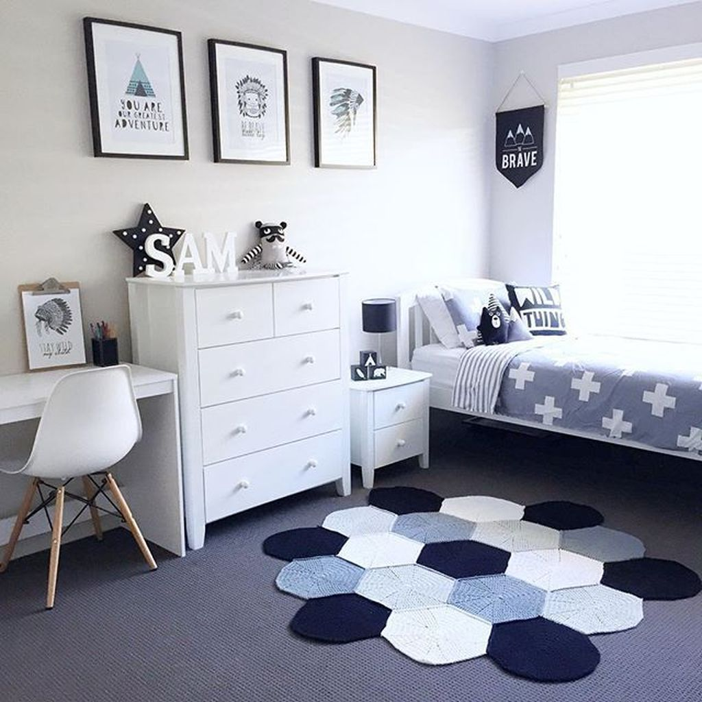 Cozy Boys Bedroom Decorating Ideas 33