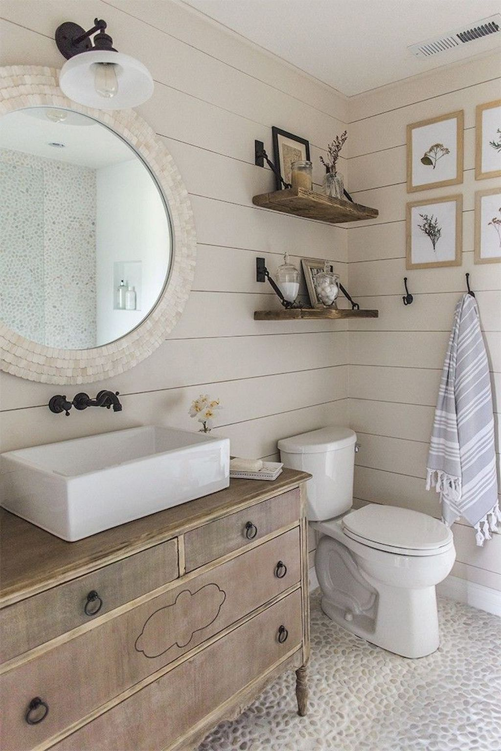 Fabulous Bathroom Decor Ideas With Coastal Style 10