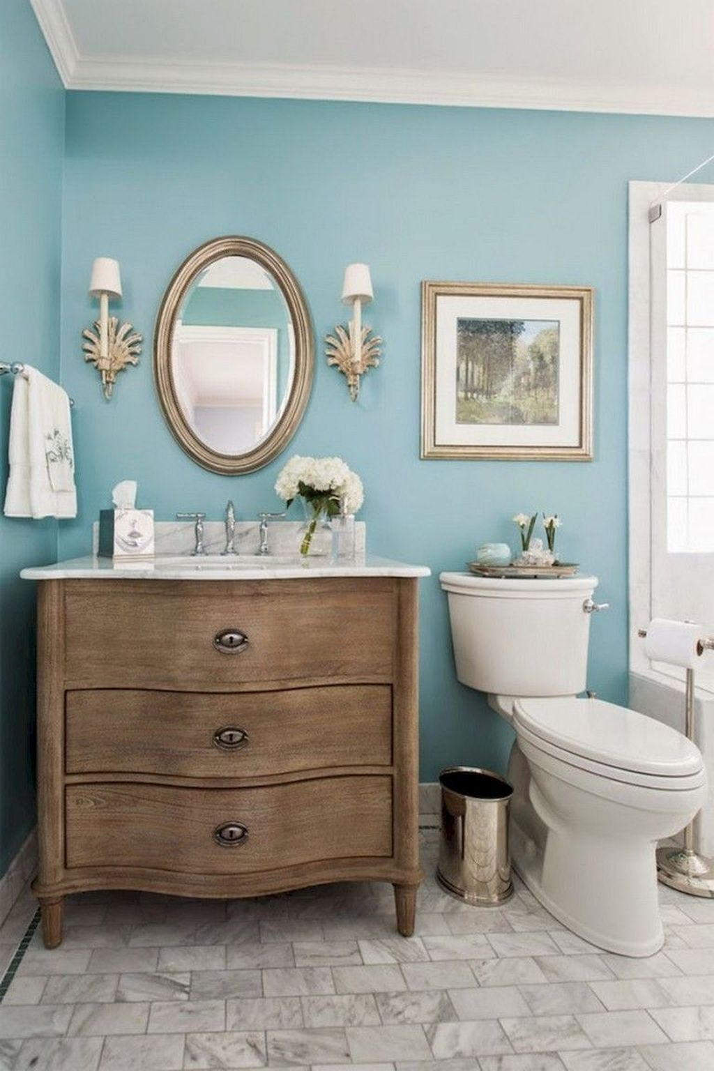Fabulous Bathroom Decor Ideas With Coastal Style 11