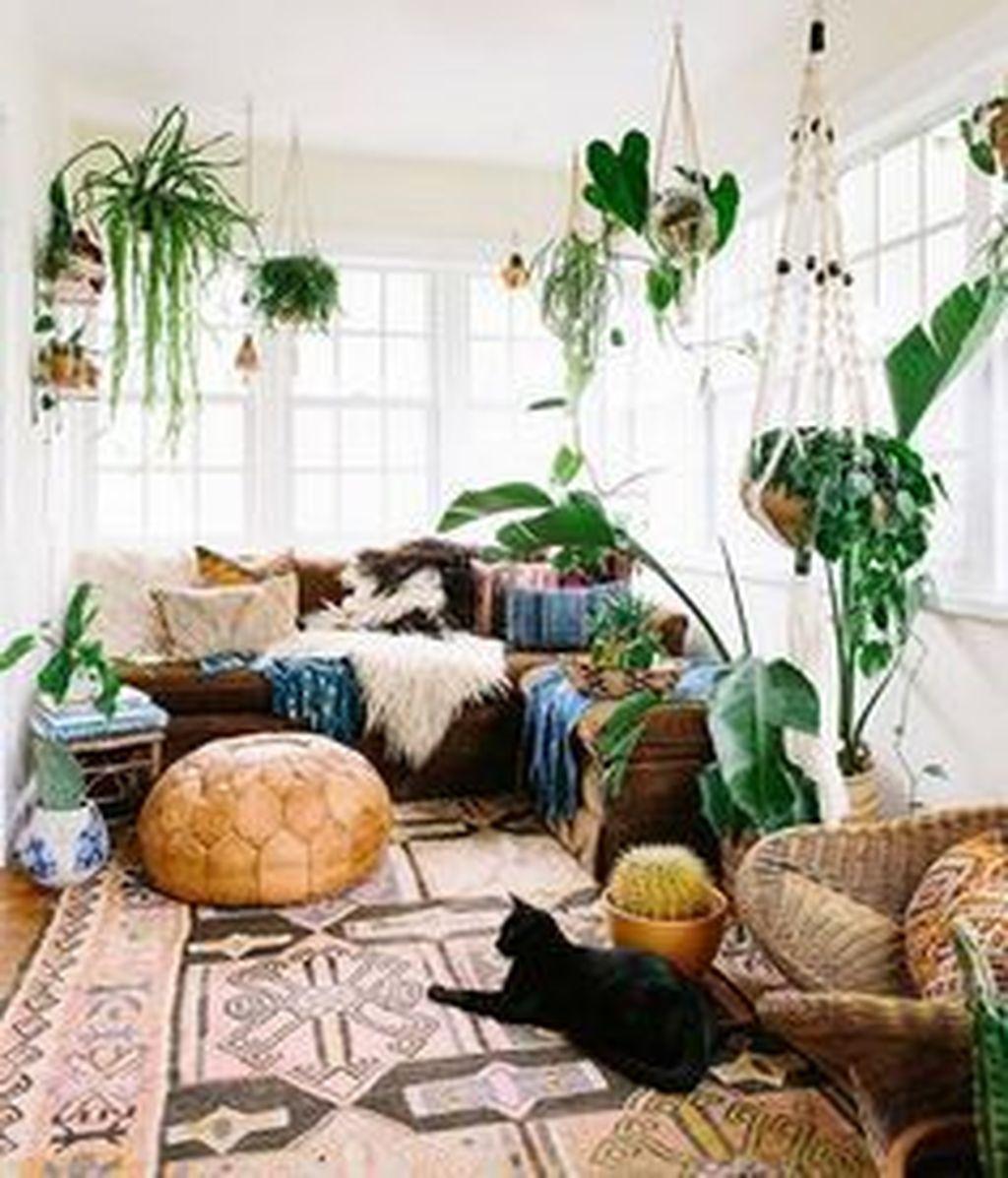 Fabulous Bohemian Living Room Decorating Ideas 05