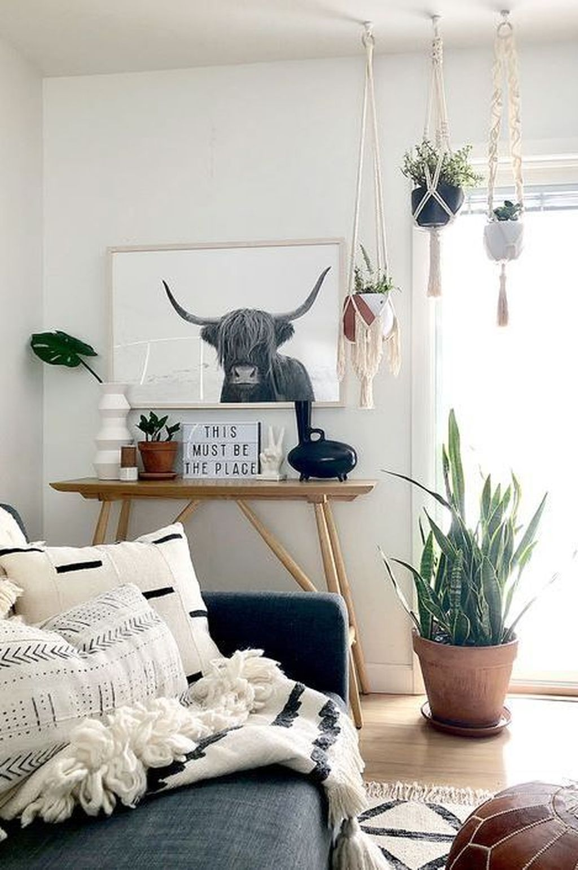 Fabulous Bohemian Living Room Decorating Ideas 12