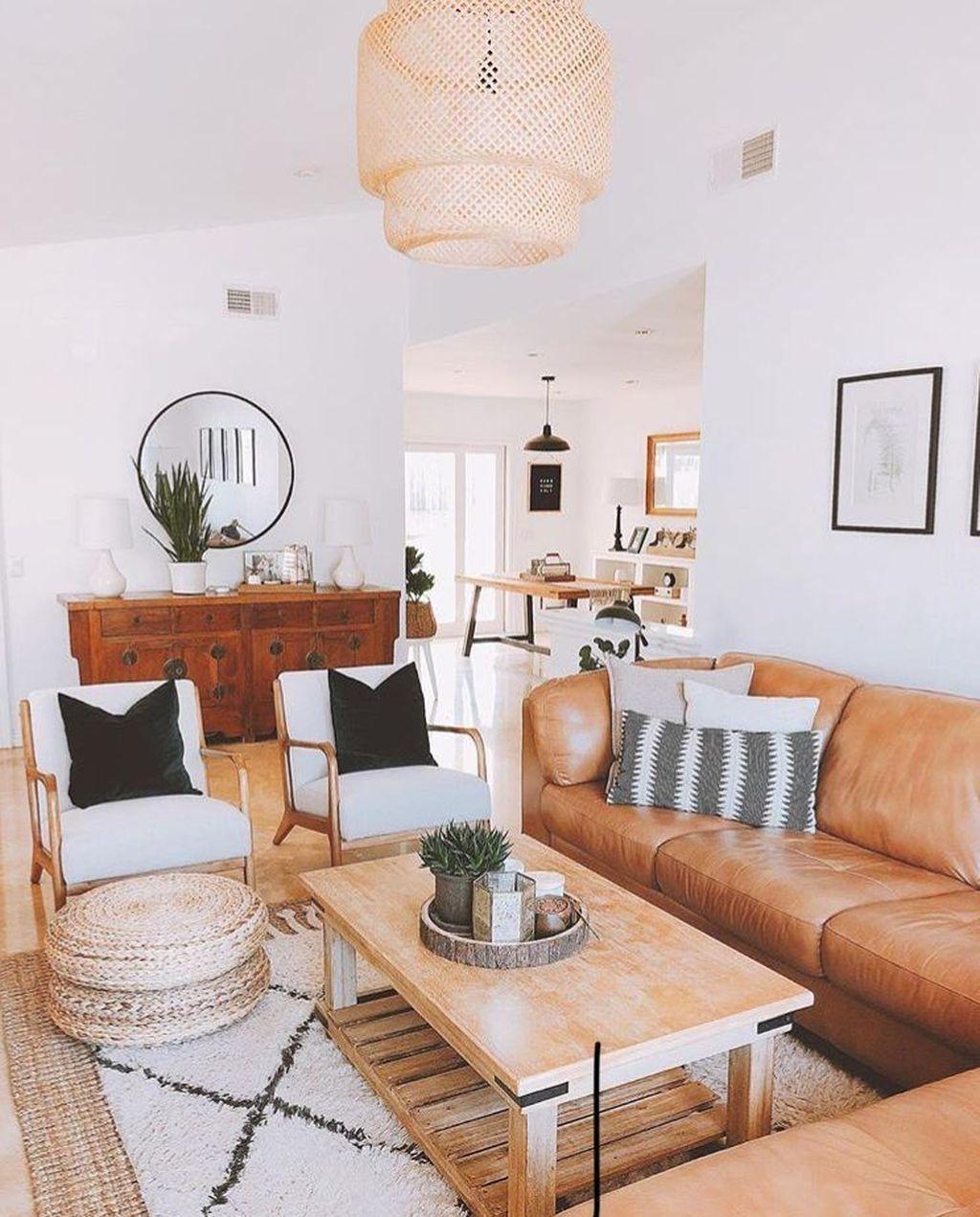 Fabulous Bohemian Living Room Decorating Ideas 13
