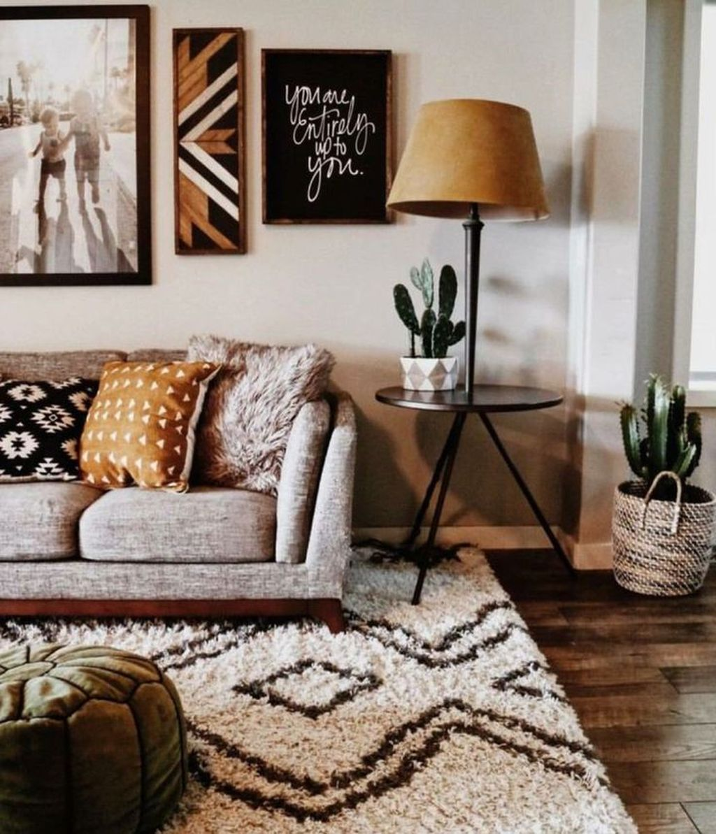Fabulous Bohemian Living Room Decorating Ideas 16