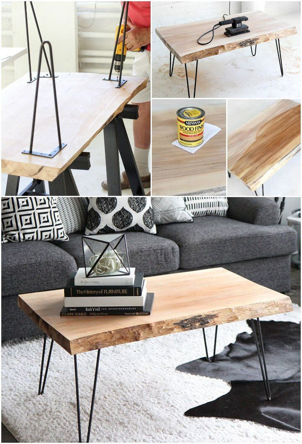 Gorgeous DIY Coffee Table Design Ideas 03