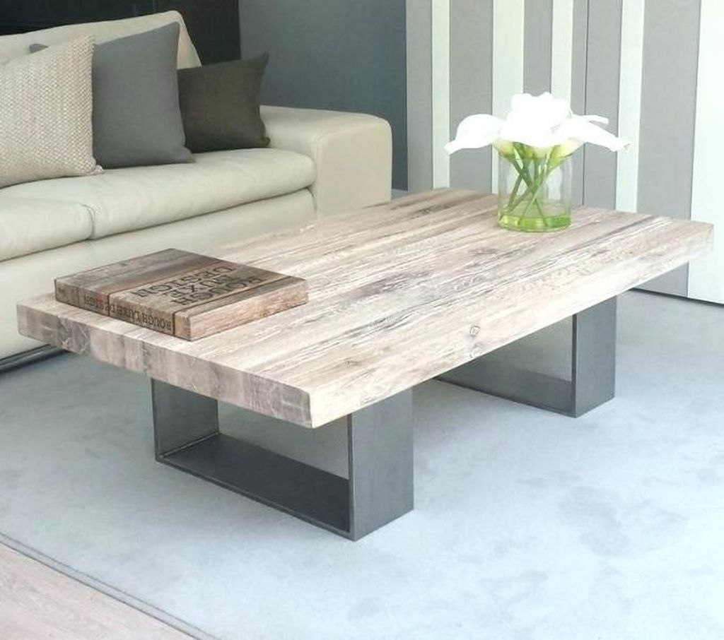 Gorgeous DIY Coffee Table Design Ideas 10