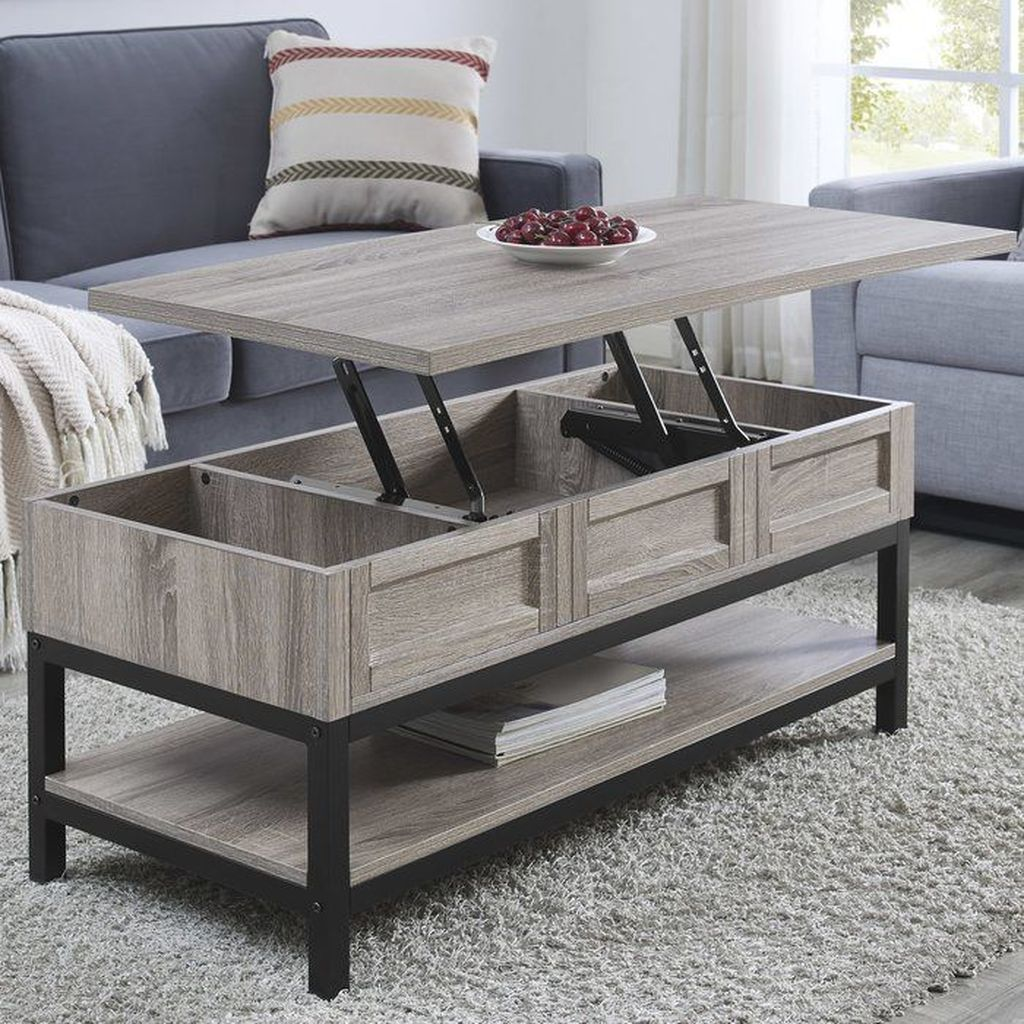 Gorgeous DIY Coffee Table Design Ideas 18
