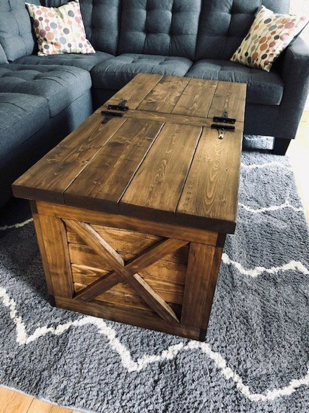 Gorgeous DIY Coffee Table Design Ideas 19