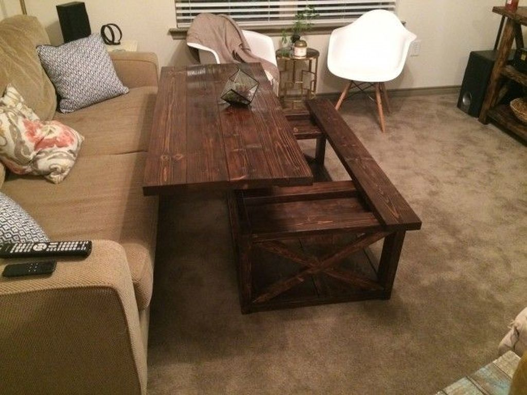 Gorgeous DIY Coffee Table Design Ideas 21