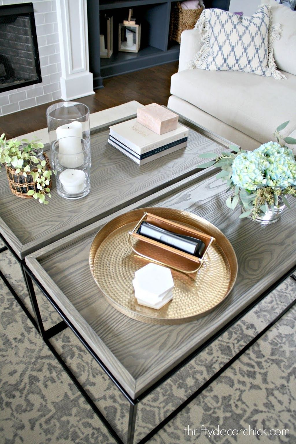 Gorgeous DIY Coffee Table Design Ideas 26