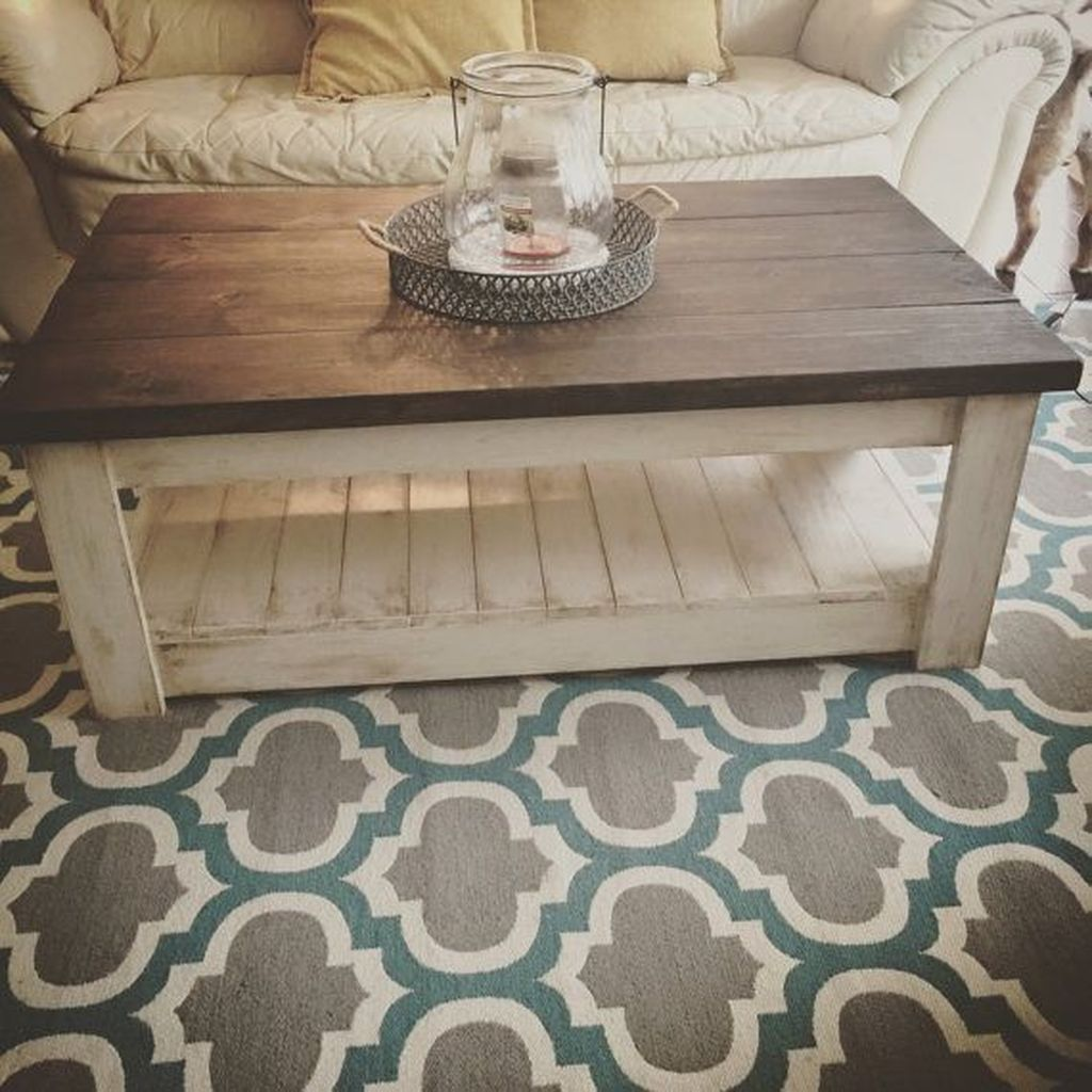 Gorgeous DIY Coffee Table Design Ideas 28
