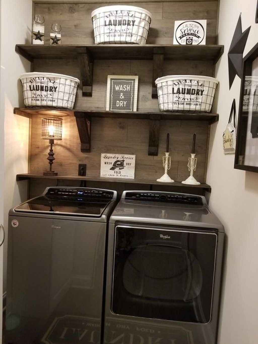 Inspiring Small Laundry Room Design And Decor Ideas 12