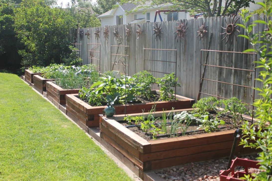Inspiring Veggies Garden Layout For Your Outdoor Ideas 23