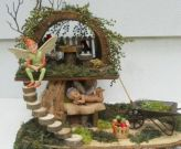 Lovely Beautiful Fairy Garden Design Ideas 29