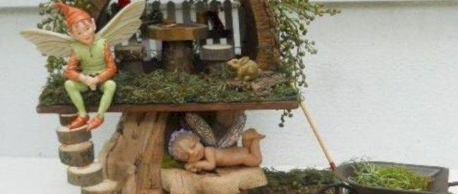 Lovely Beautiful Fairy Garden Design Ideas 29