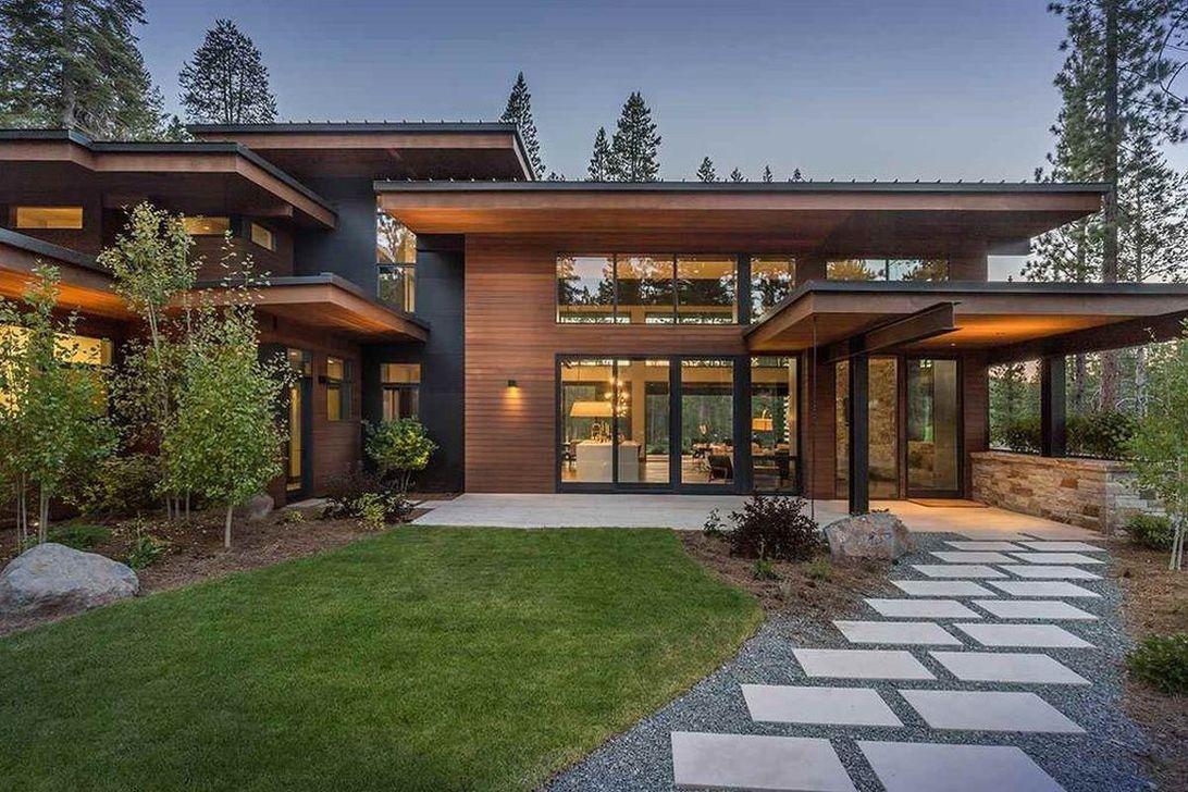 Lovely Modern Home Exterior Design Ideas 01