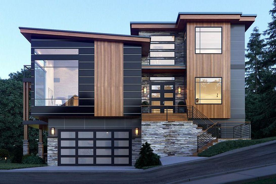 Lovely Modern Home Exterior Design Ideas 02