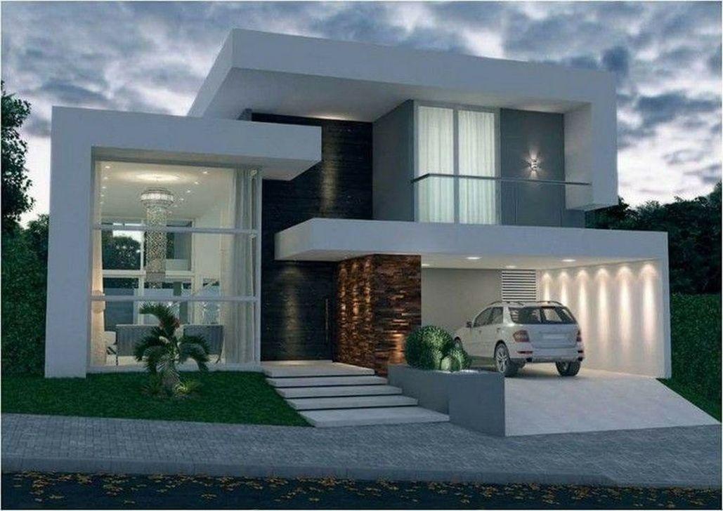Lovely Modern Home Exterior Design Ideas 11
