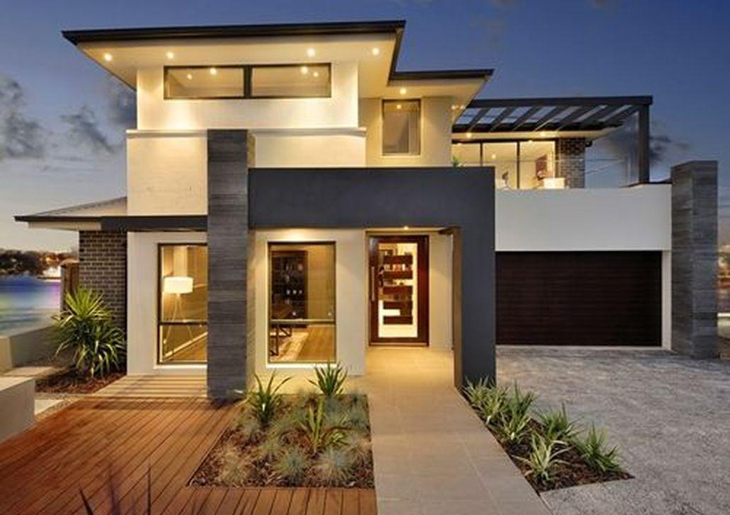 Lovely Modern Home Exterior Design Ideas 14