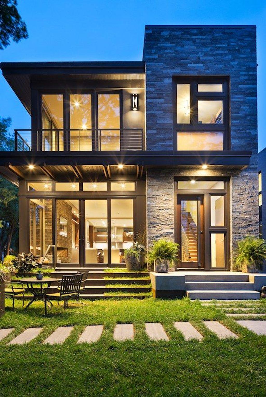Lovely Modern Home Exterior Design Ideas 18