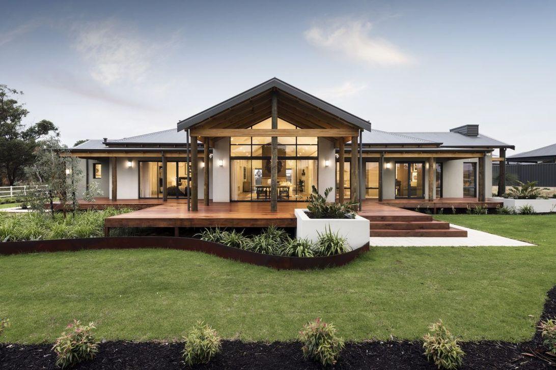 Lovely Modern Home Exterior Design Ideas 22