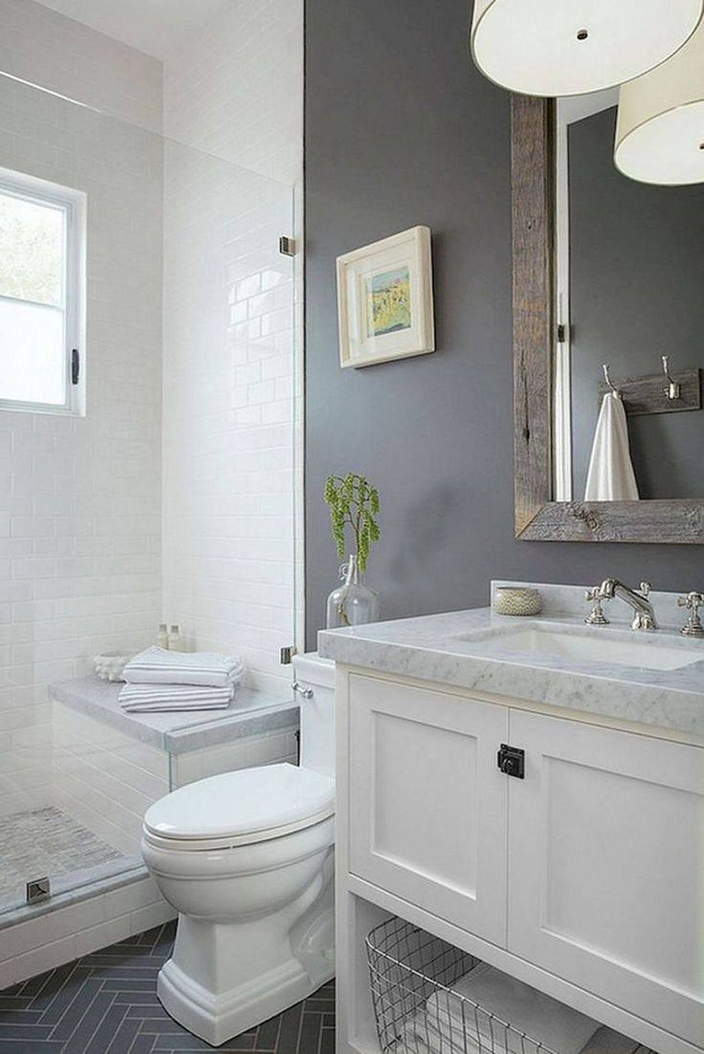 Popular And Stylish Small Master Bathroom Remodel Ideas 28