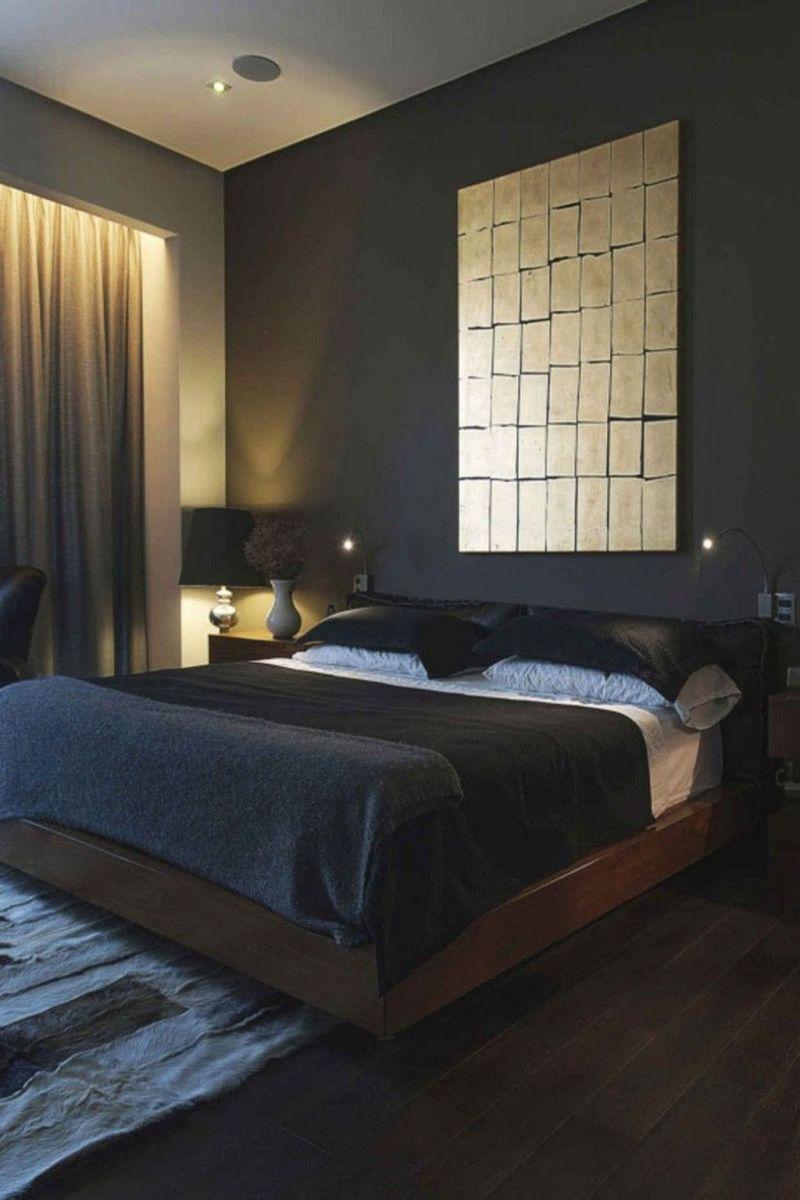 Popular Modern Man Bedroom With Elegant Look 07