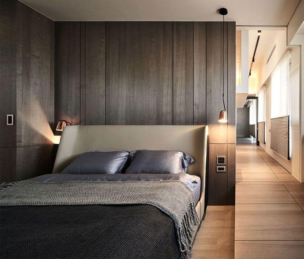 Popular Modern Man Bedroom With Elegant Look 08
