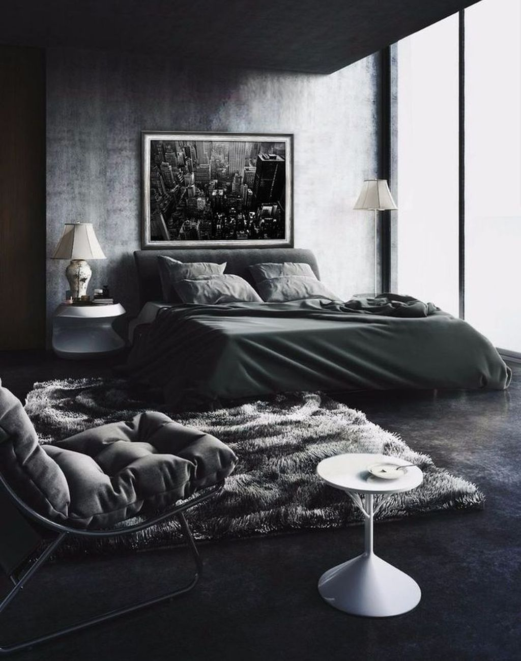 Popular Modern Man Bedroom With Elegant Look 16
