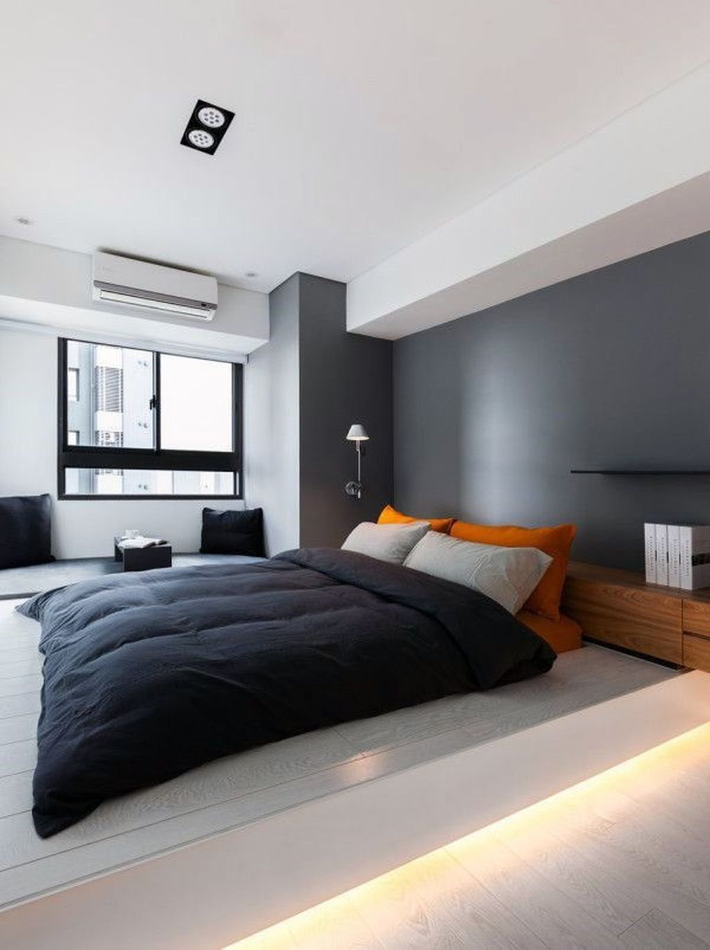 Popular Modern Man Bedroom With Elegant Look 17