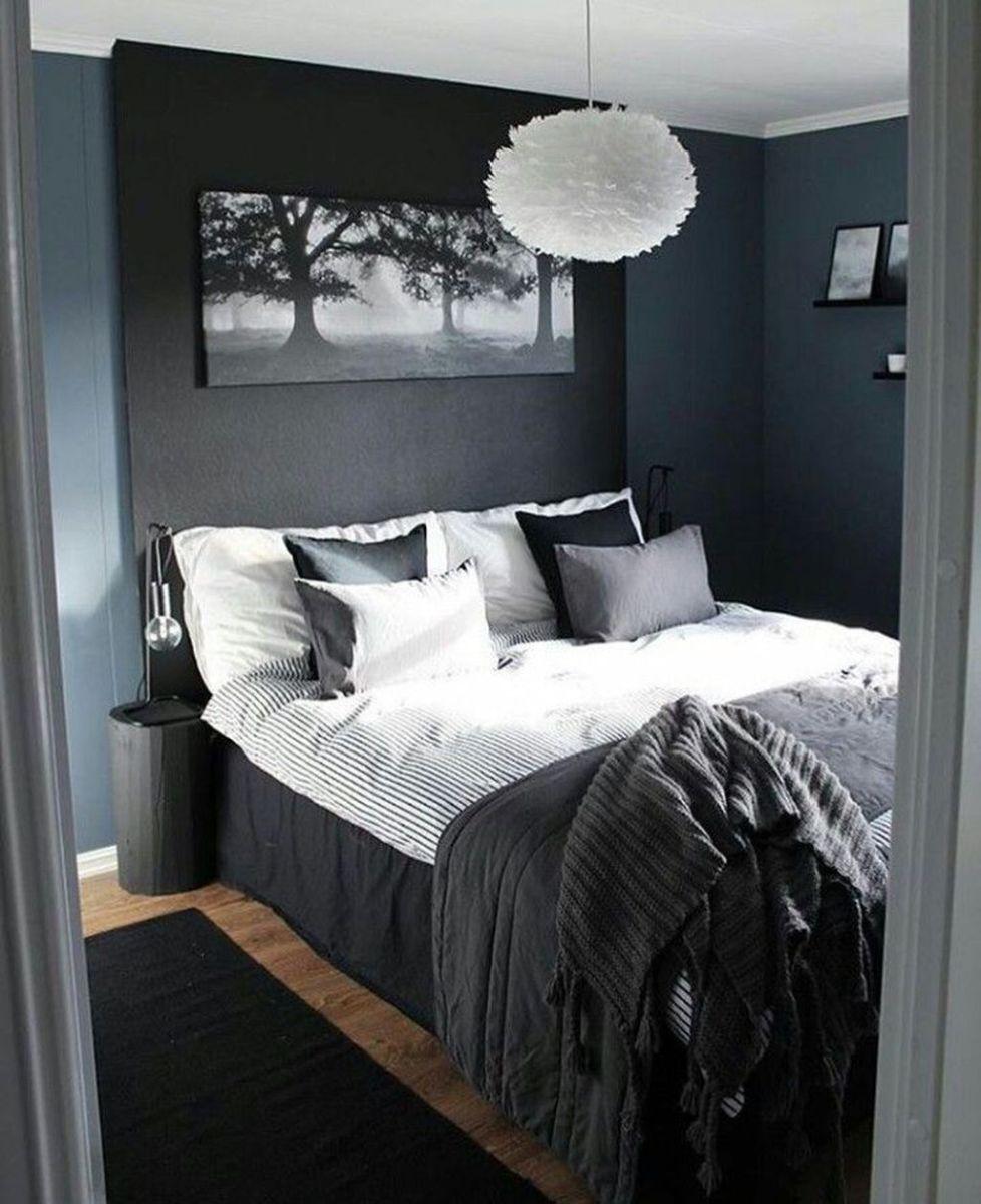Popular Modern Man Bedroom With Elegant Look 23