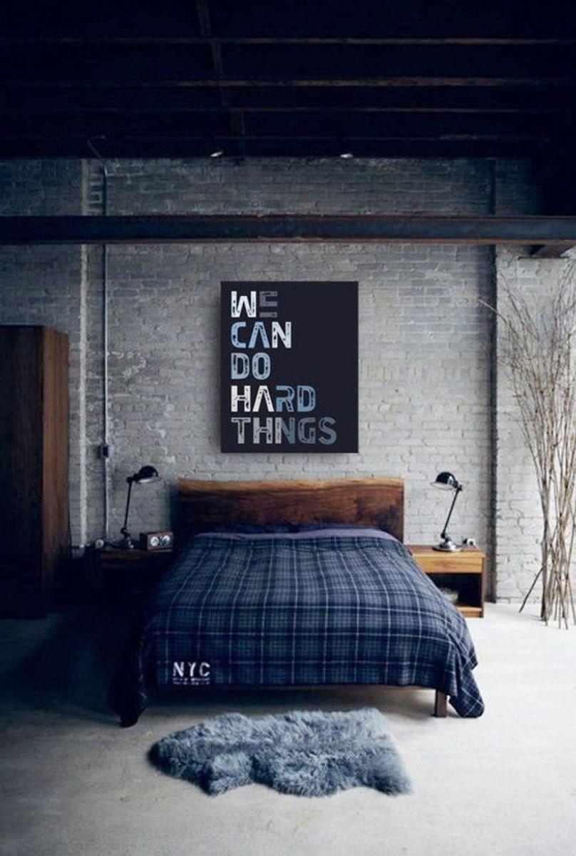 Popular Modern Man Bedroom With Elegant Look 26