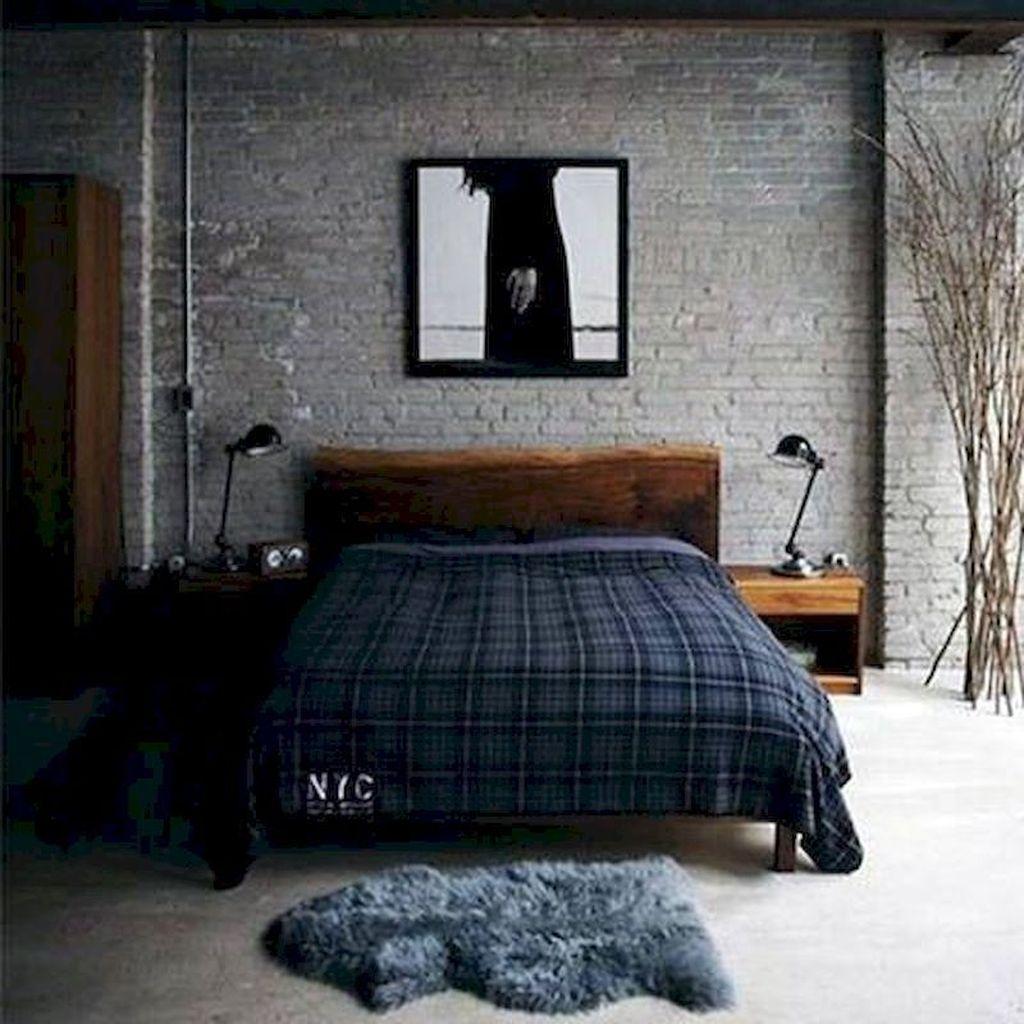 Popular Modern Man Bedroom With Elegant Look 29