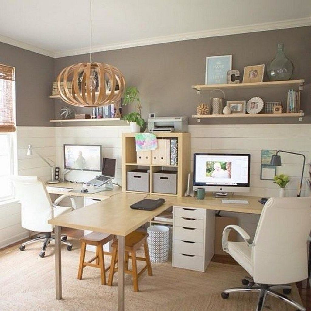 Stunning Modern Home Office Design Ideas 10