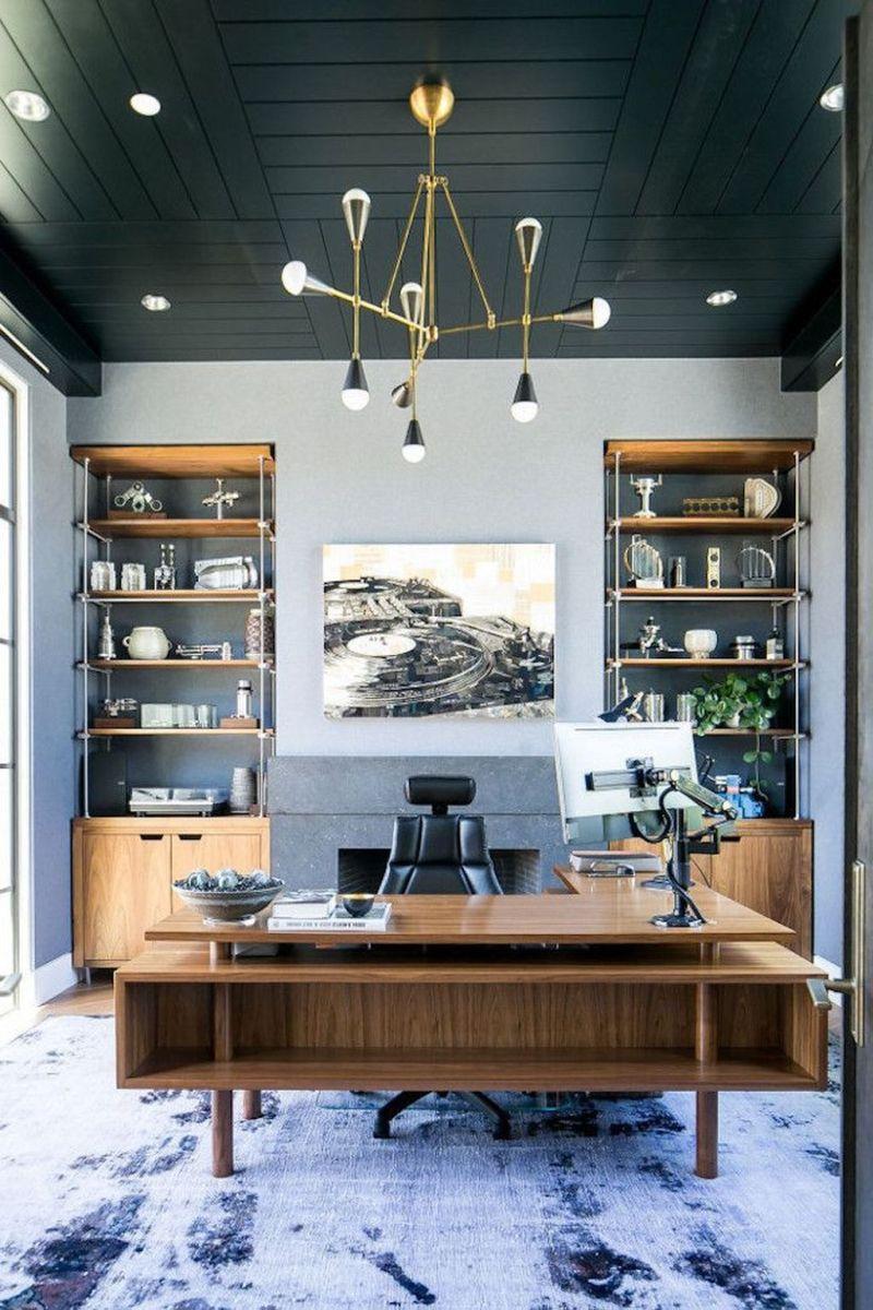 Stunning Modern Home Office Design Ideas 20