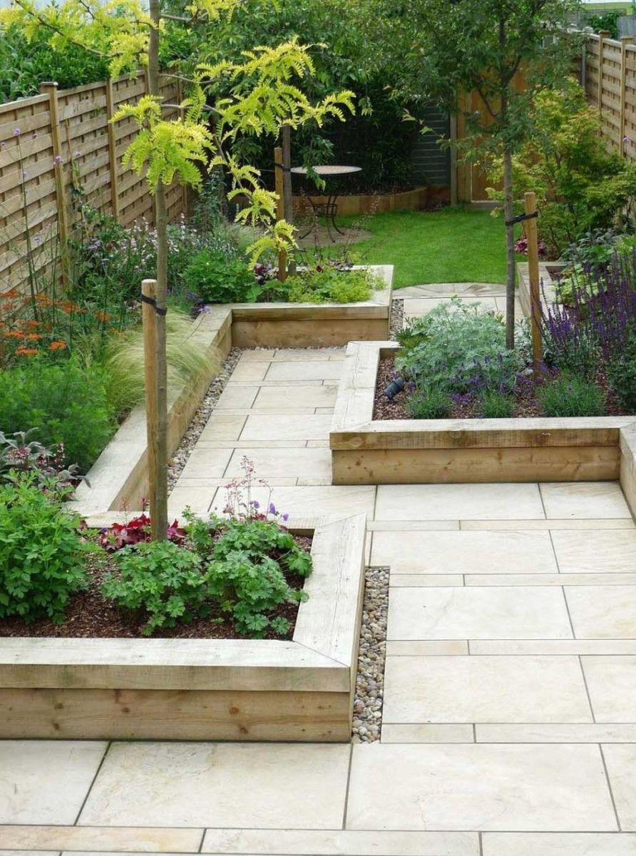 Stunning Tiny Garden Design Ideas To Get Beautiful Look 20