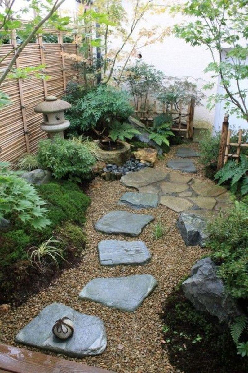 Stunning Tiny Garden Design Ideas To Get Beautiful Look 30