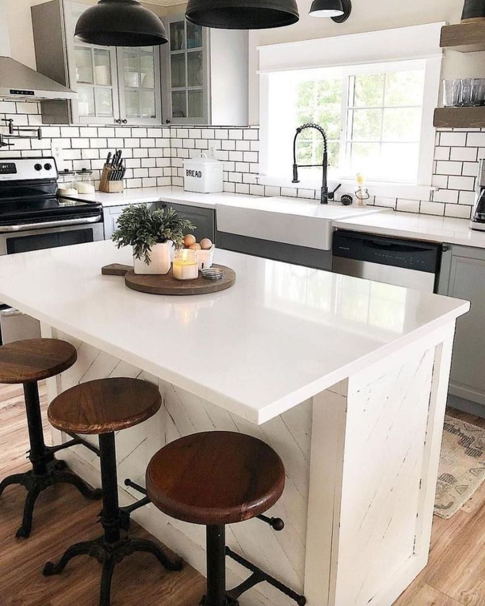 The Best Kitchen Island Ideas You Will Love 34