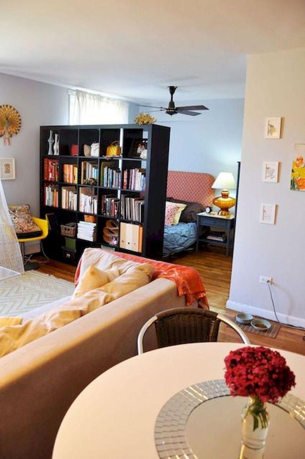 The Best Studio Apartment Layout Design Ideas 05