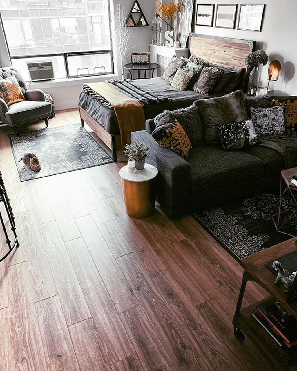 The Best Studio Apartment Layout Design Ideas 06