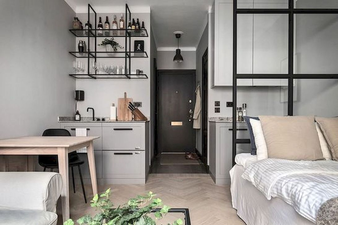 The Best Studio Apartment Layout Design Ideas 18