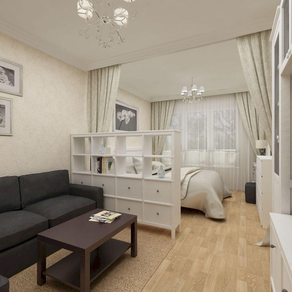 The Best Studio Apartment Layout Design Ideas 22