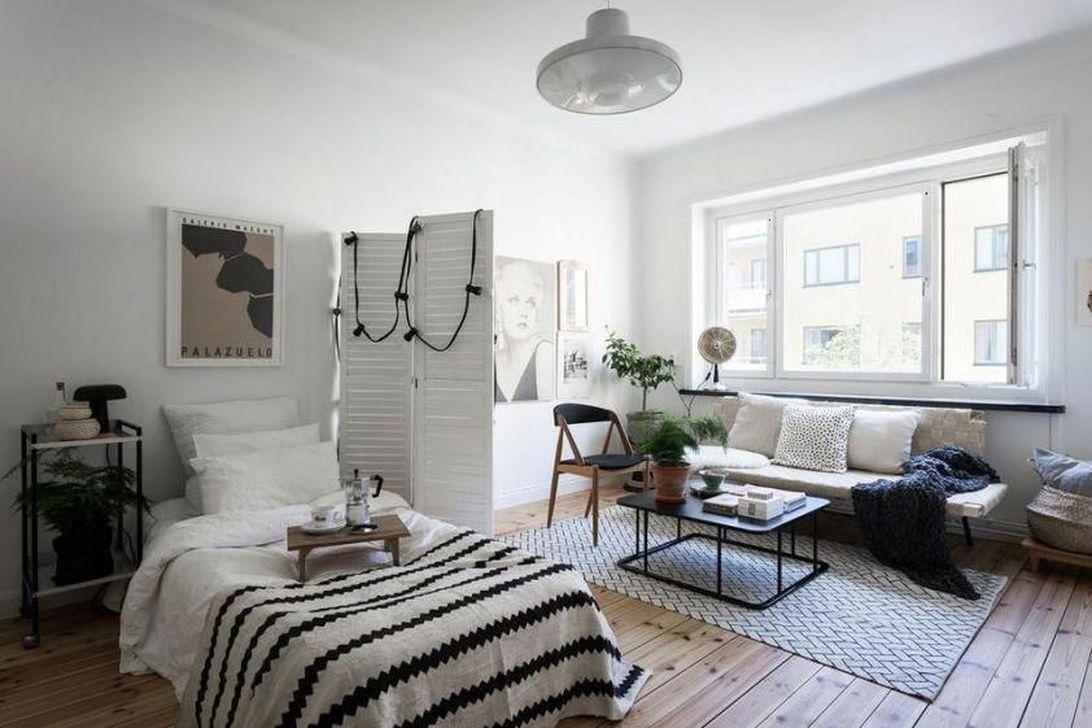 The Best Studio Apartment Layout Design Ideas 26