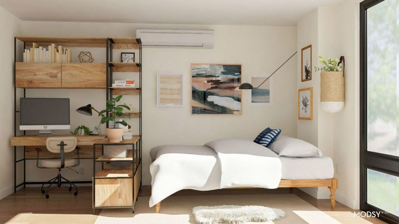 The Best Studio Apartment Layout Design Ideas 29