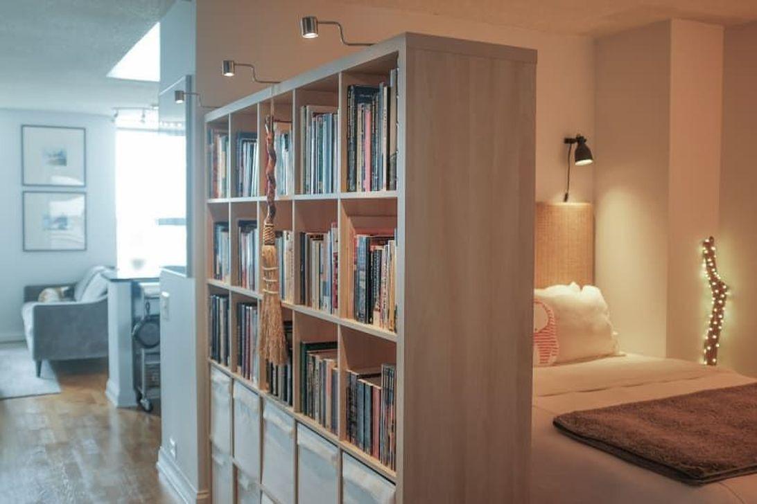 The Best Studio Apartment Layout Design Ideas 32